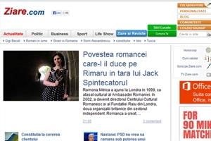 Picture of Ramona Mitrica - Interview for Ziare.com News Portal