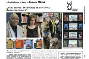 Picture of Interview with Ramona Mitrica in Contemporanul cultural magazine